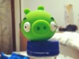 Il maialino verde di Angry Birds