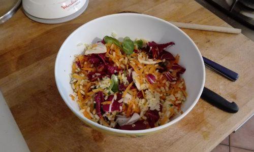 #LunedìInsalatina: l'insalata quattro colori