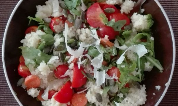 #LunedìInsalatina: l'insalata couscous