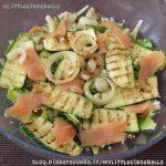 #LunedìInsalatina: zucchine e salmone