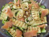 Insalata Salmone e Zucchine